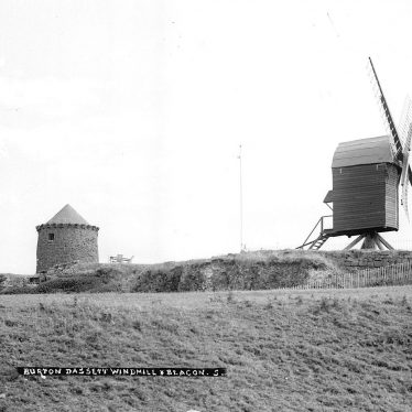 Burton Dassett.  Windmill and beacon