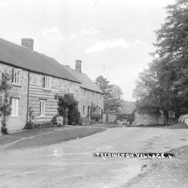 Tredington.  Village scene