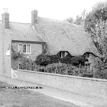 Tredington.  Village scene