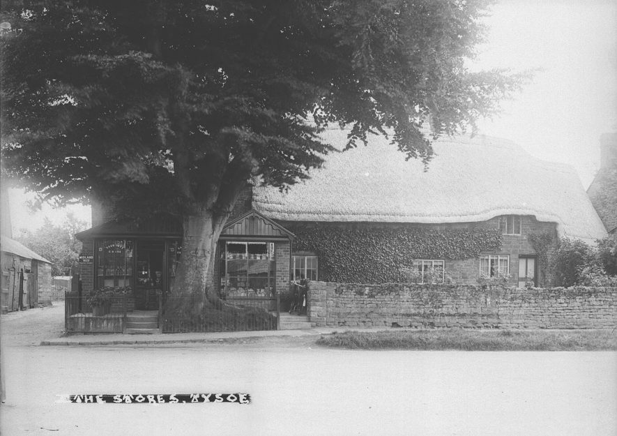 The Stores, Tysoe.  1930s |  IMAGE LOCATION: (Warwickshire County Record Office)