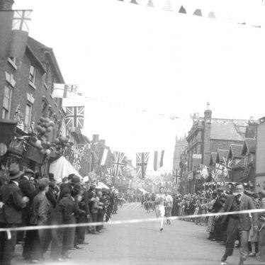Alcester.  Coronation street race