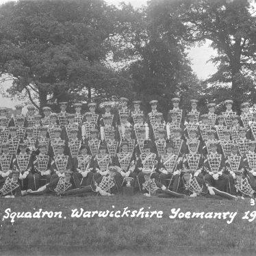 Warwick. Yeomanry.  D Squadron