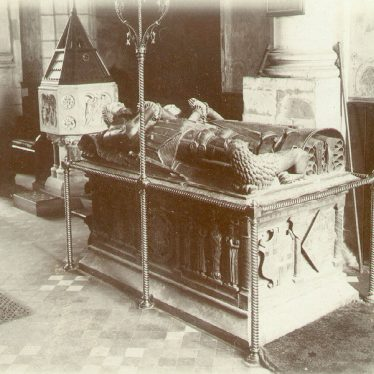 Alcester.  Tomb of Sir Fulke Greville and his wife