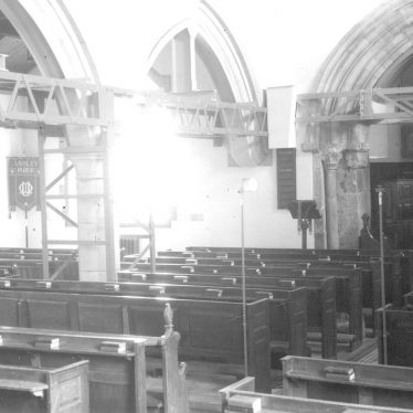Ansley.  Church interior