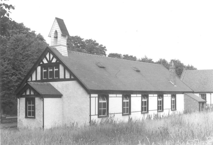 Ansley Mission church.  1930s