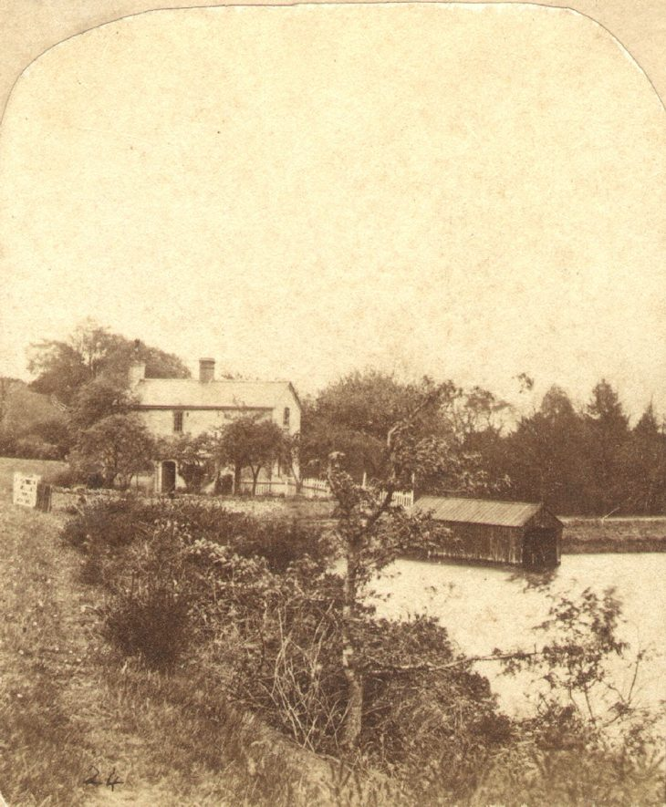 Reservoir near Atherstone.  1890s  |  IMAGE LOCATION: (Warwickshire County Record Office)