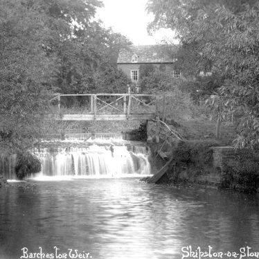 Barcheston.  Weir