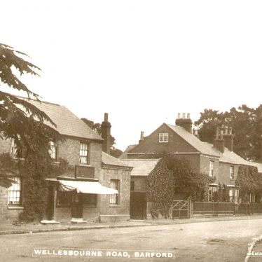 Barford.  Wellesbourne Road