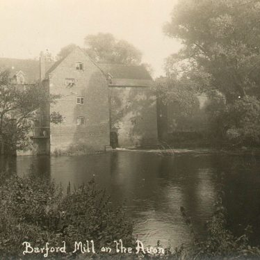 Barford.  Mill on the Avon