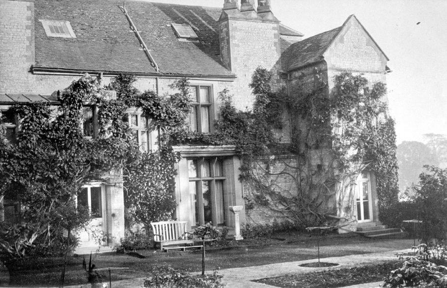 Birdingbury Hall, south elevation.  1910s |  IMAGE LOCATION: (Warwickshire County Record Office)