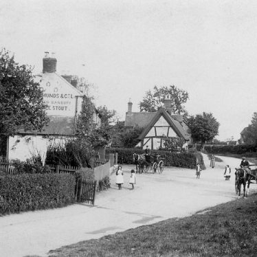 Bubbenhall.  Village street