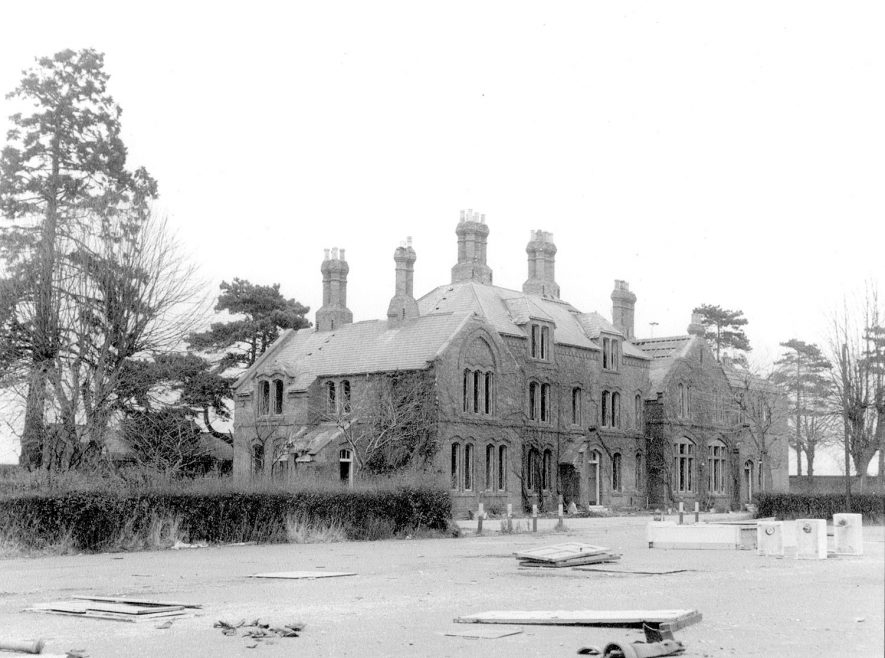Part of the deserted Budbrooke barracks.  1964 |  IMAGE LOCATION: (Warwickshire County Record Office)