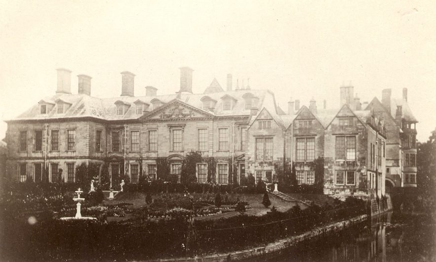 View of Coombe Abbey.  1910s |  IMAGE LOCATION: (Warwickshire County Record Office)