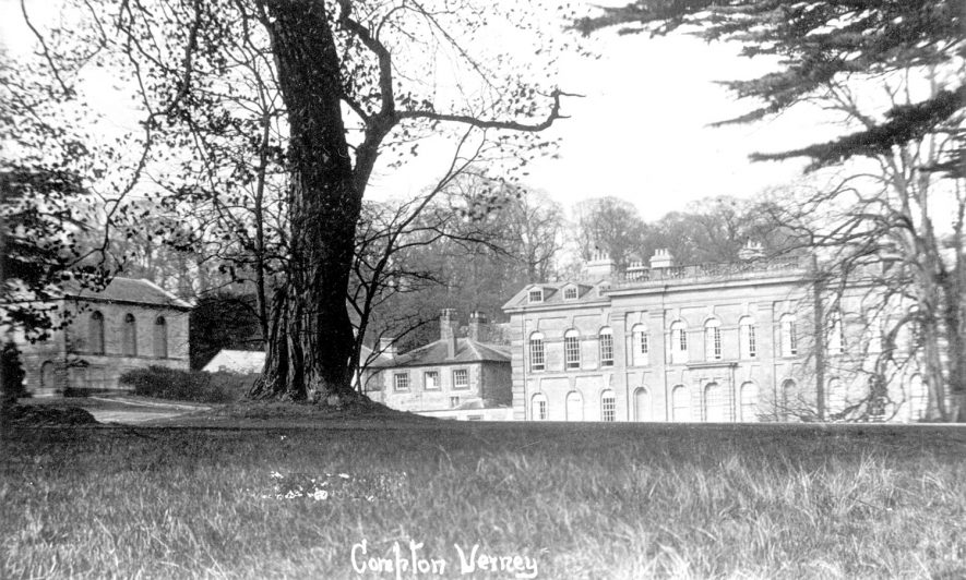 View of Compton Verney.  1930s |  IMAGE LOCATION: (Warwickshire County Record Office)
