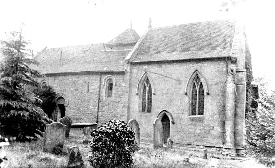 Corley church.  1905 |  IMAGE LOCATION: (Warwickshire County Record Office)