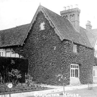 Coughton.  Coughton House