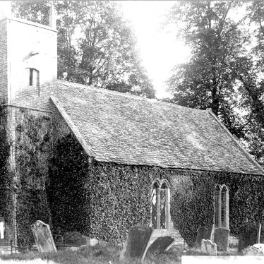Dorsington.  Church
