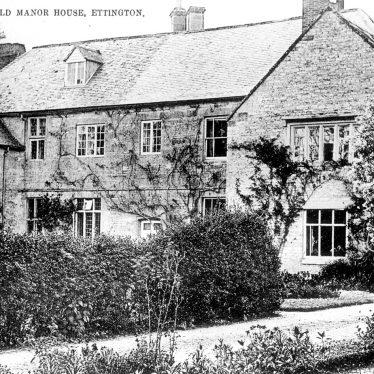 Ettington.  Old Manor House