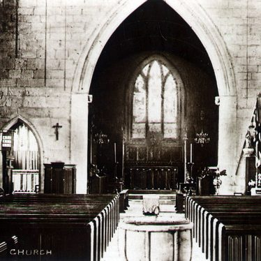 Fillongley.  Church interior
