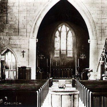 Fillongley.  Church interior