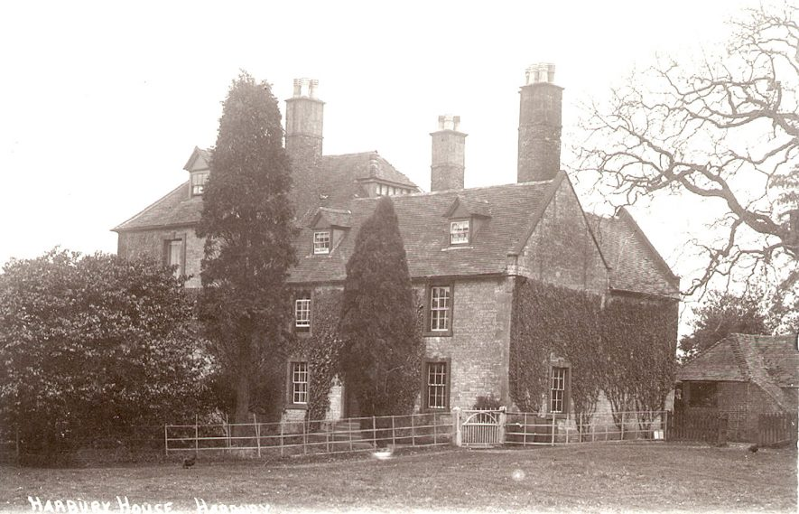 Harbury House, Harbury.  1920s |  IMAGE LOCATION: (Warwickshire County Record Office)