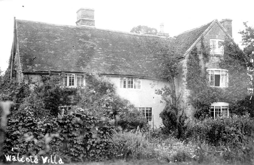 Walcote Villa, Haselor.  1900s |  IMAGE LOCATION: (Warwickshire County Record Office)