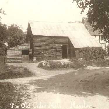 Haselor.  Old cider mill