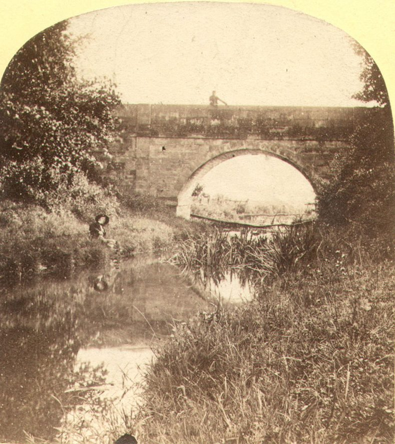 The Tilt Yard Bridge, Kenilworth Castle.  1860s |  IMAGE LOCATION: (Warwickshire County Record Office)