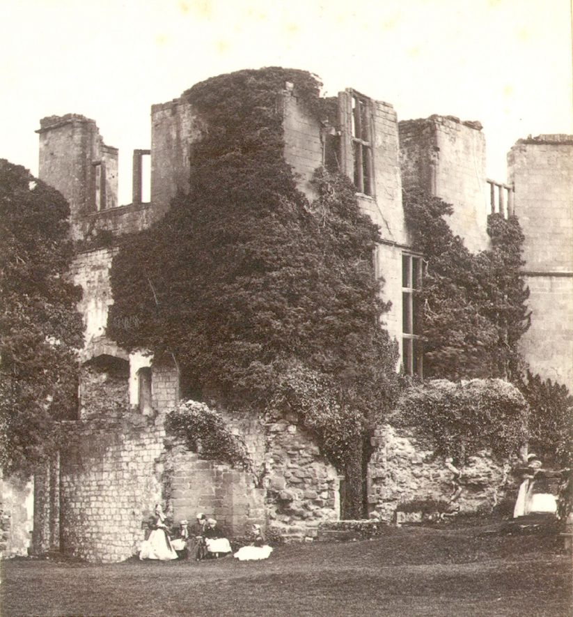 Leicester's Building, Kenilworth Castle.  1860s |  IMAGE LOCATION: (Warwickshire County Record Office)
