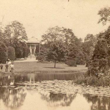 Leamington Spa.  Jephson Gardens