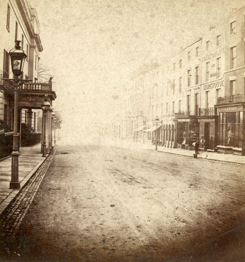 Upper Parade, Leamington Spa.  1860s |  IMAGE LOCATION: (Warwickshire County Record Office)