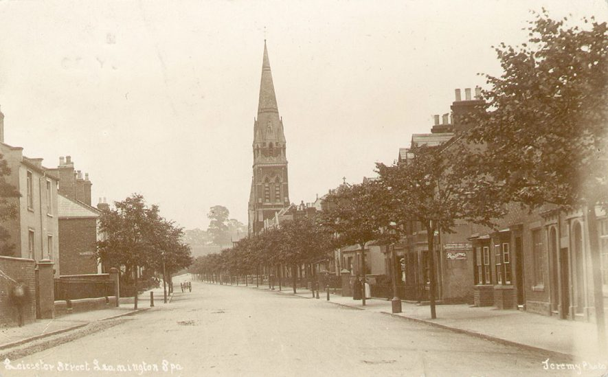 Leicester Street, Leamington Spa.  1906 |  IMAGE LOCATION: (Warwickshire County Record Office)