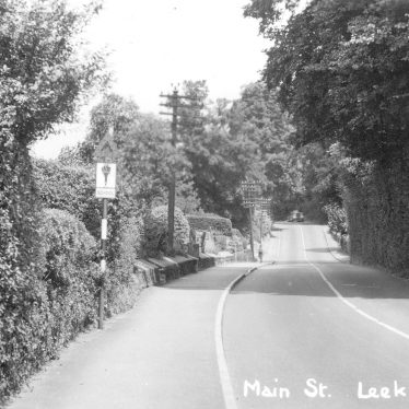Leek Wootton.  Main Street