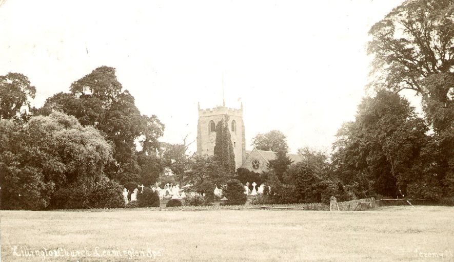 Lillington Church.  1906 |  IMAGE LOCATION: (Warwickshire County Record Office)