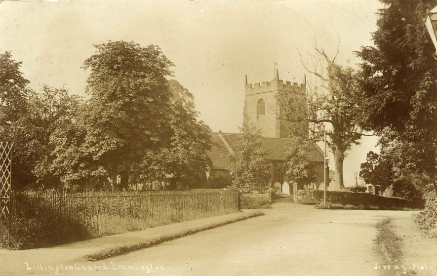 Lillington Church.  1906 |  IMAGE LOCATION: (Warwickshire County Record Office)