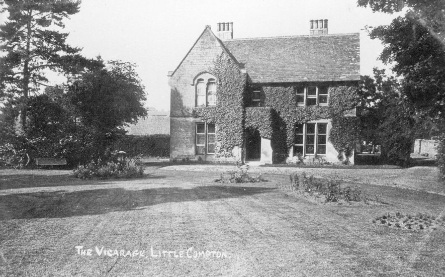 Little Compton Vicarage exterior.  1909 |  IMAGE LOCATION: (Warwickshire County Record Office)