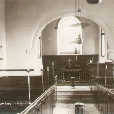 Loxley.  Church interior