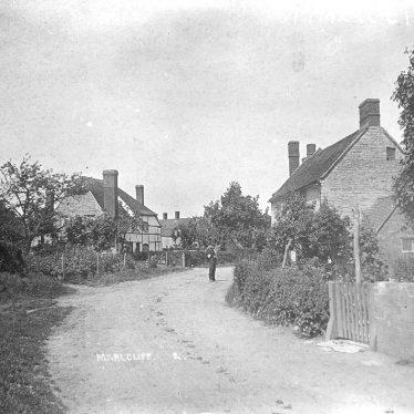 Marlcliff.  Village street