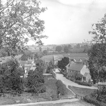 Marlcliff.  Village view looking North