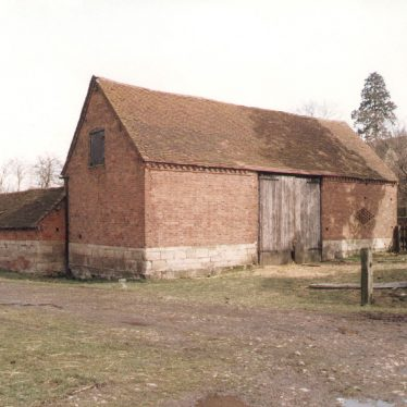 Milverton.  Park House Farm Barn