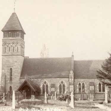 Milverton.  St James church