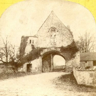 Maxstoke.  Priory Gatehouse