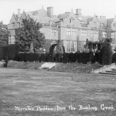 Moreton Paddox.  House from the Bowling Green