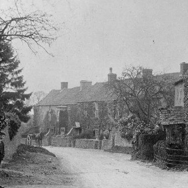 Cherington.  Village street