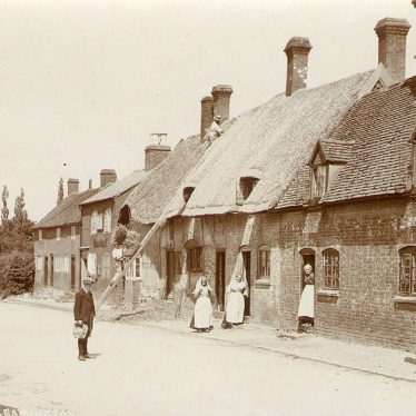 Radford Semele.  Cottages