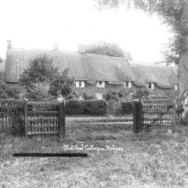 Radway.  Cottages