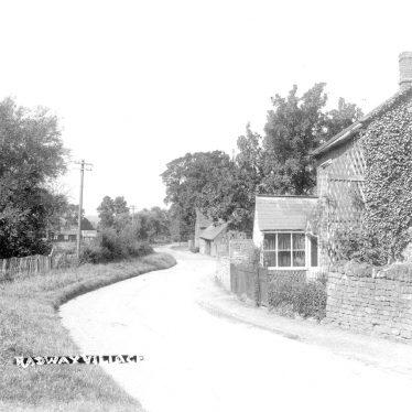 Radway.  Village scene