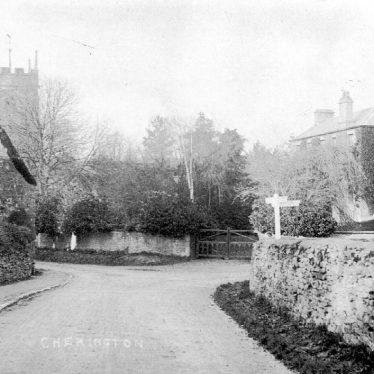 Cherington.  Village streets