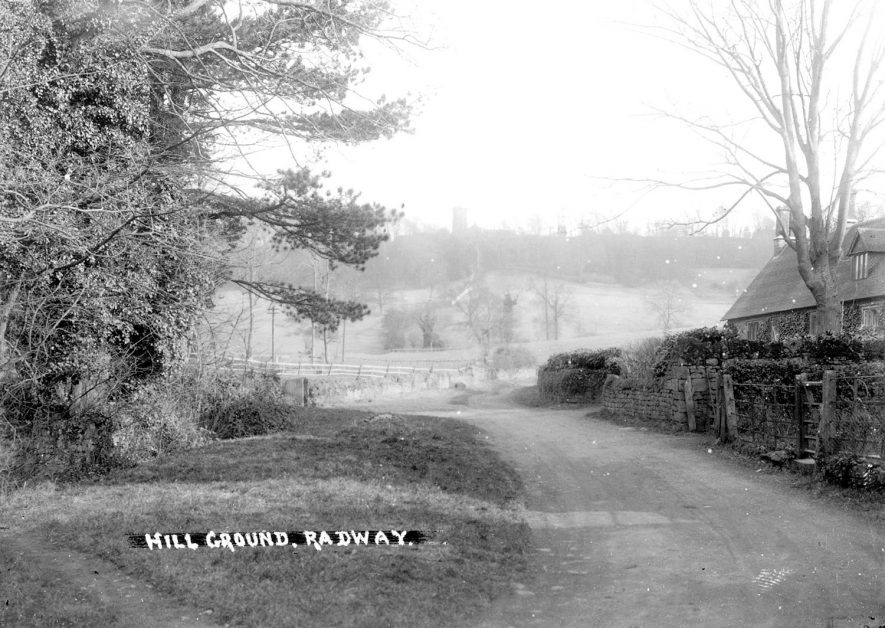 Hill Ground, Radway.  1930s |  IMAGE LOCATION: (Warwickshire County Record Office)