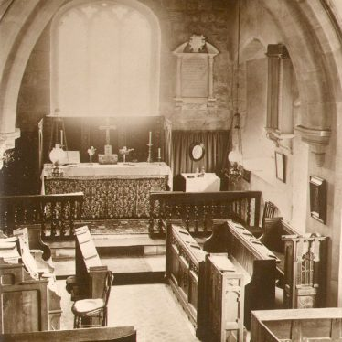 Ryton on Dunsmore.  Church interior